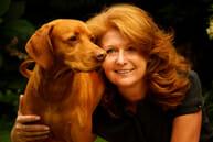Maggie (Malgorzata Biernacka) with her dog Rudi